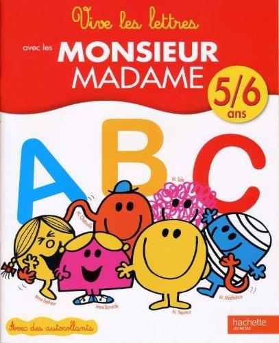 9782012266902: Vive les lettres - Monsieur Madame