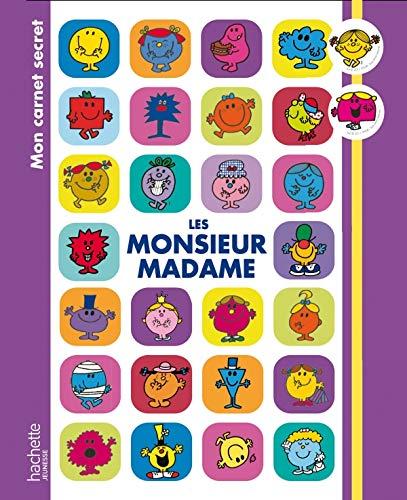 9782012266995: Mon carnet secret les monsieur madame