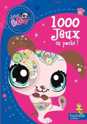 9782012268050: 1000 Jeux En Poche Littlest Petshop (English and French Edition)