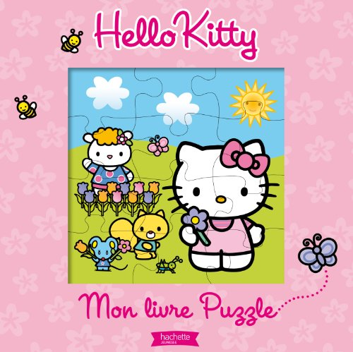 9782012268135: Mon Grand Livre Puzzle Hello Kitty (English and French Edition)