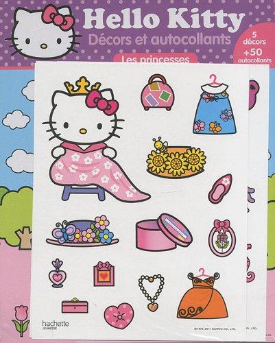 9782012269057: Decors Et Autocollants -Les Princesses (Hello Kitty) (French Edition)
