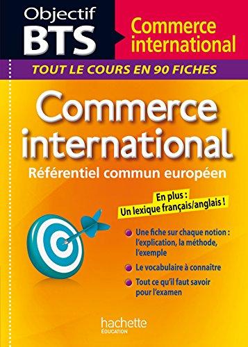9782012273337: Objectif BTS Commerce international