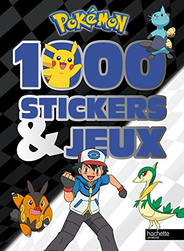 9782012275393: 1000 stickers et jeux Pokemon