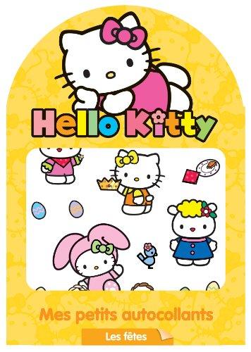 9782012276499: Hello Kitty - Mes petits autocollants - Les fêtes