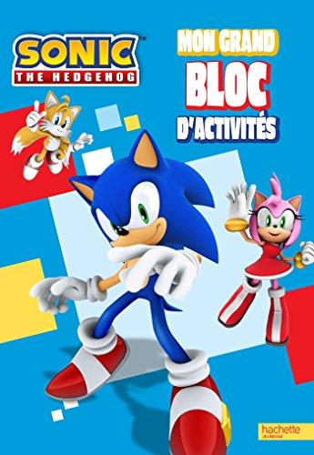 9782012276789: Sonic the hedgehog / mon grand bloc d'activités