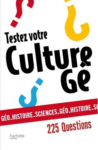 9782012300712: Testez votre culture gé (French Edition)