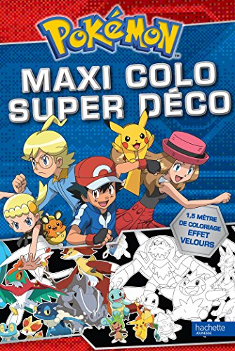 POKÉMON MAXI COLO SUPER DÉCO: COLLECTIF