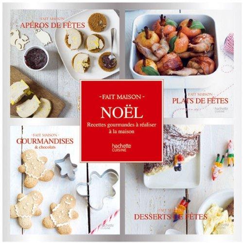 9782012309678: Coffret 4 mini livres Noël: Fait Maison