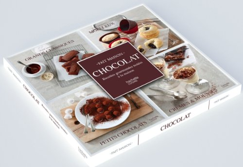 9782012312470: Coffret 4 mini-livres chocolat