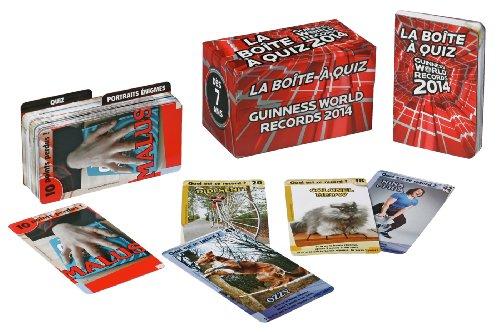 9782012314610: La boîte à quiz Guinness World Records 2014