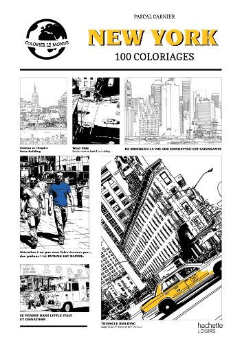 9782012314672: New York: 100 coloriages (Loisirs / Sports/ Passions)