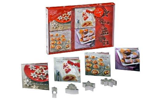 9782012315389: Coffret 4 mini-livres Recettes de Noël