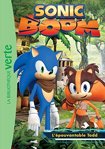 9782012318540: Sonic Boom 04 - L'épouvantable Todd (Ma Première Bibliothèque Verte)