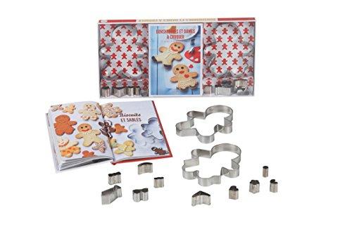 9782012319936: Coffret bonshommes et dames à croquer: 25 recettes de biscuits à customiser