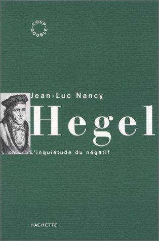 9782012352346: Hegel: L'inquietude du negatif (Coup double) (French Edition)