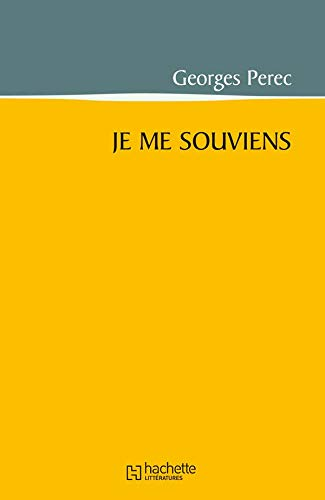 9782012354562: Je ME Souviens (French Edition)