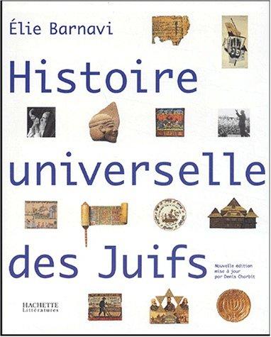 9782012356177: Histoire universelle des juifs