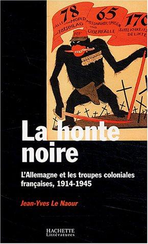 9782012356740: La Honte noire