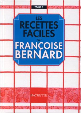 9782012361058: Les Recettes faciles, tome 2