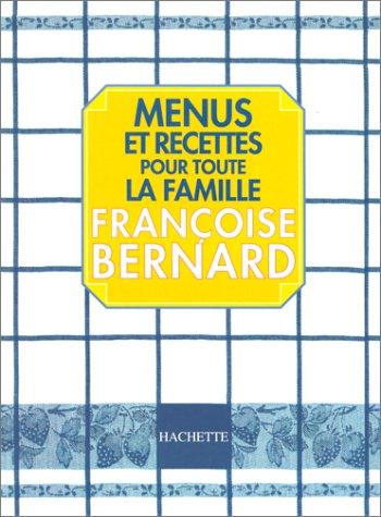 9782012361935: Menus et recettes pour toute la famille