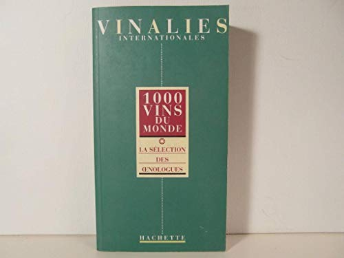 9782012365360: 1000 vins du monde