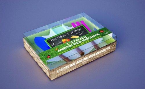 9782012377585: Coffret l'atelier jardin des enfants