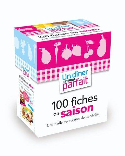9782012381391: Bo�te Un d�ner presque parfait 100 fiches de saison