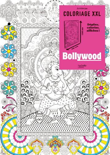 9782012386396: Coloriage XXL Bollywood