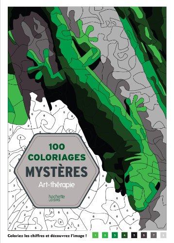 9782012386457: 100 Coloriages mystères: Art-thérapie