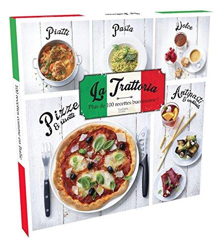 9782012388420: Coffret La Trattoria: Plus de 100 recettes buonissime !