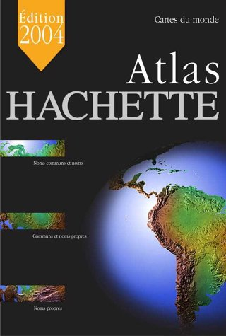 9782012438798: Grand Atlas Hachette