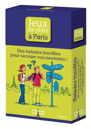 9782012445840: Coffret Jeux de piste à Paris