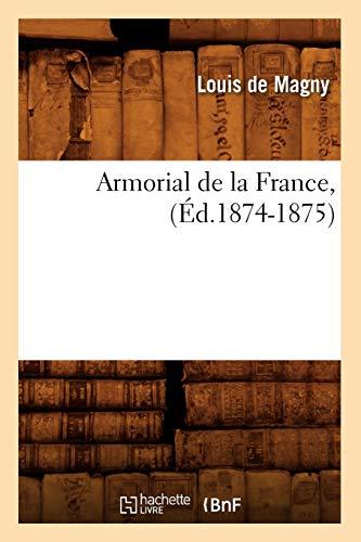 9782012524378: Armorial de La France, (Histoire) (French Edition)