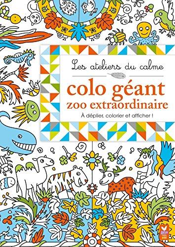 9782012555297: Les ateliers du calme - Colo géant - Zoo extraordinaire - a partir de 3 ans (French Edition)