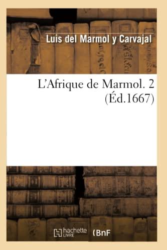 L Afrique De Marmol 2 Ed 1667