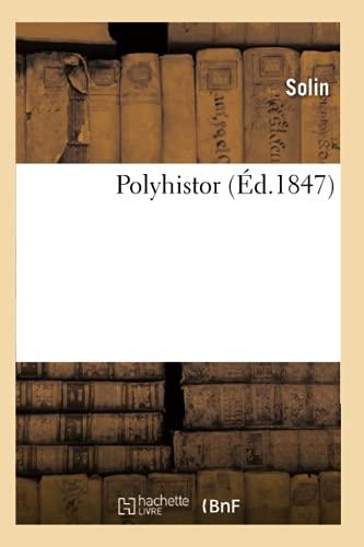 Polyhistor (Ed.1847): Solin