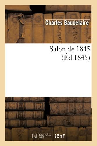 9782012624986: Salon de 1845 (Arts)