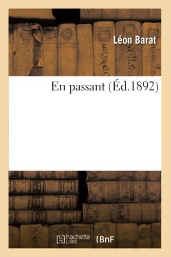 En Passant (Ed.1892): Barat L.