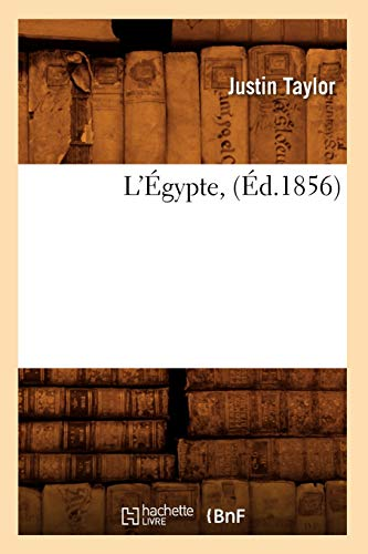 9782012677357: L'Egypte, (Ed.1856) (Histoire) (French Edition)