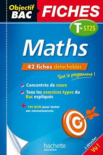 9782012707696: Objectif Bac Fiches Détachables Maths Term St2S