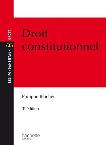9782012709010: Les Fondamentaux - Droit Constitutionnel: Edition 2015