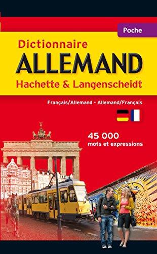 9782012710696: Dictionnaire Poche Hachette Langenscheidt - Bilingue Allemand (Dictionnaires bilingues)