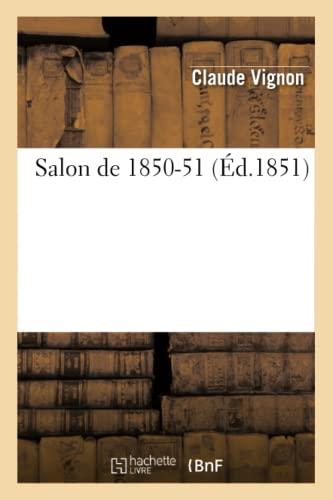 Salon de 1850-51: Vignon, Claude