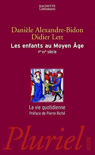 9782012791565: Les enfants au Moyen Age (Ve-XVe siècle)
