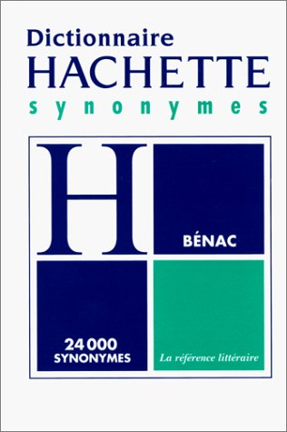 9782012804562: DICTIONNAIRE DES SYNONYMES