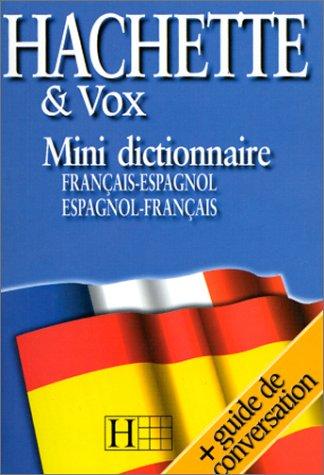 9782012804845: Mini dictionnaire français-espagnol, espagnol-français