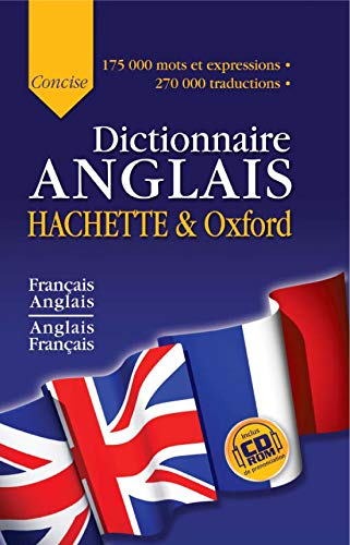 Dictionnaire anglais Hachette-Oxford Concise (French Edition): Collectif