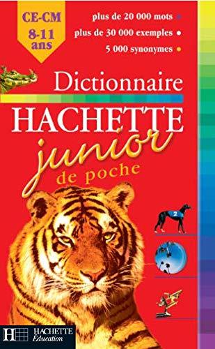 9782012805699: Dictionnaire Hachette Junior de poche : CE-CM, 8-11 ans