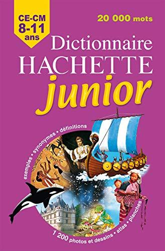 9782012805910: Dictionnaire Hachette junior : CE-CM 8-11 ans