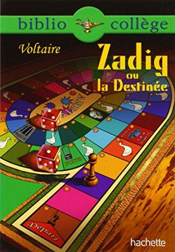9782012814158: Zadig ou La destin�e